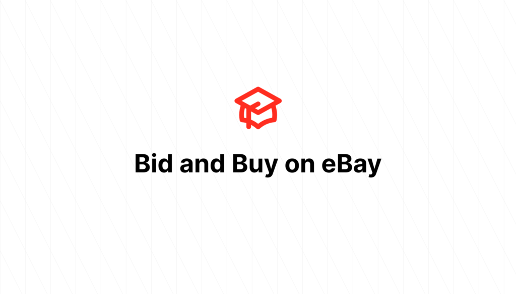 Bid and Buy on eBay