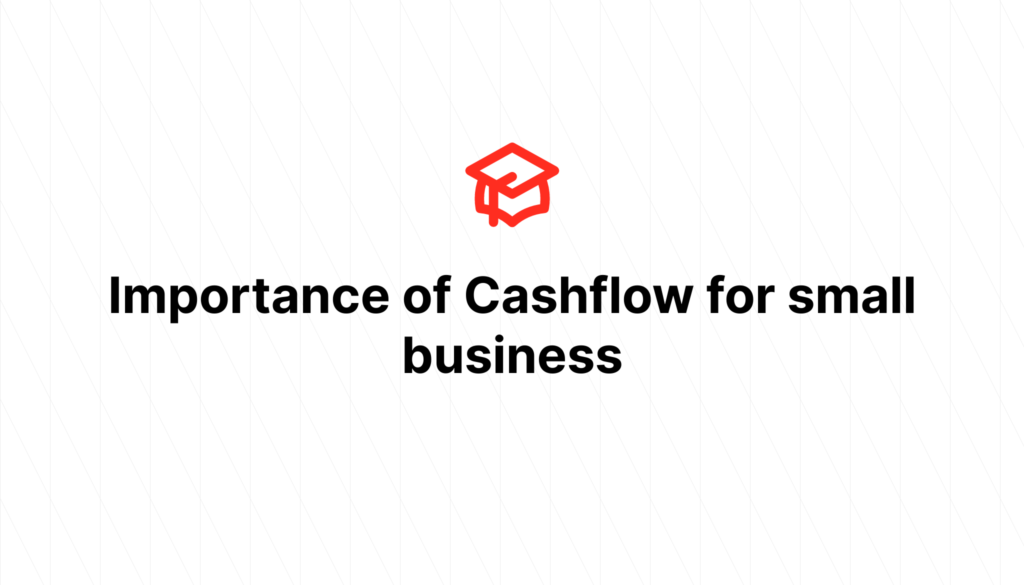 Importance of Cashflow for small business