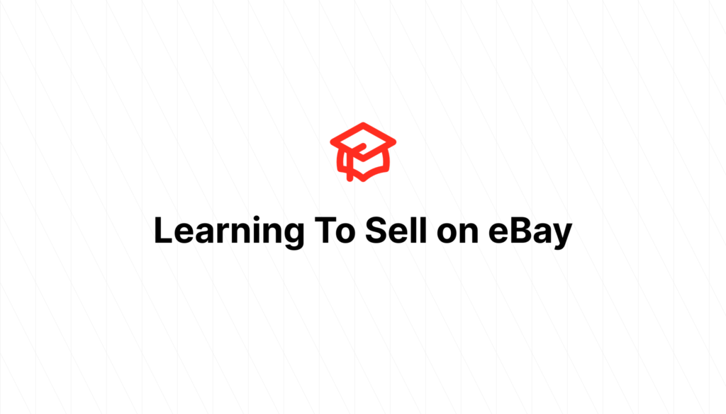 Learning To Sell on eBay